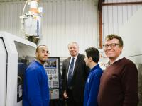 Sir Paul Beresford visits Broanmain Plastics